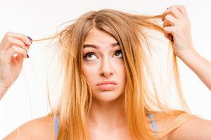Дистрофия роста волос