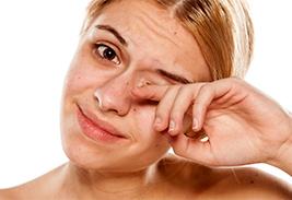 Подергивание век (миокимия) – причины и лечение